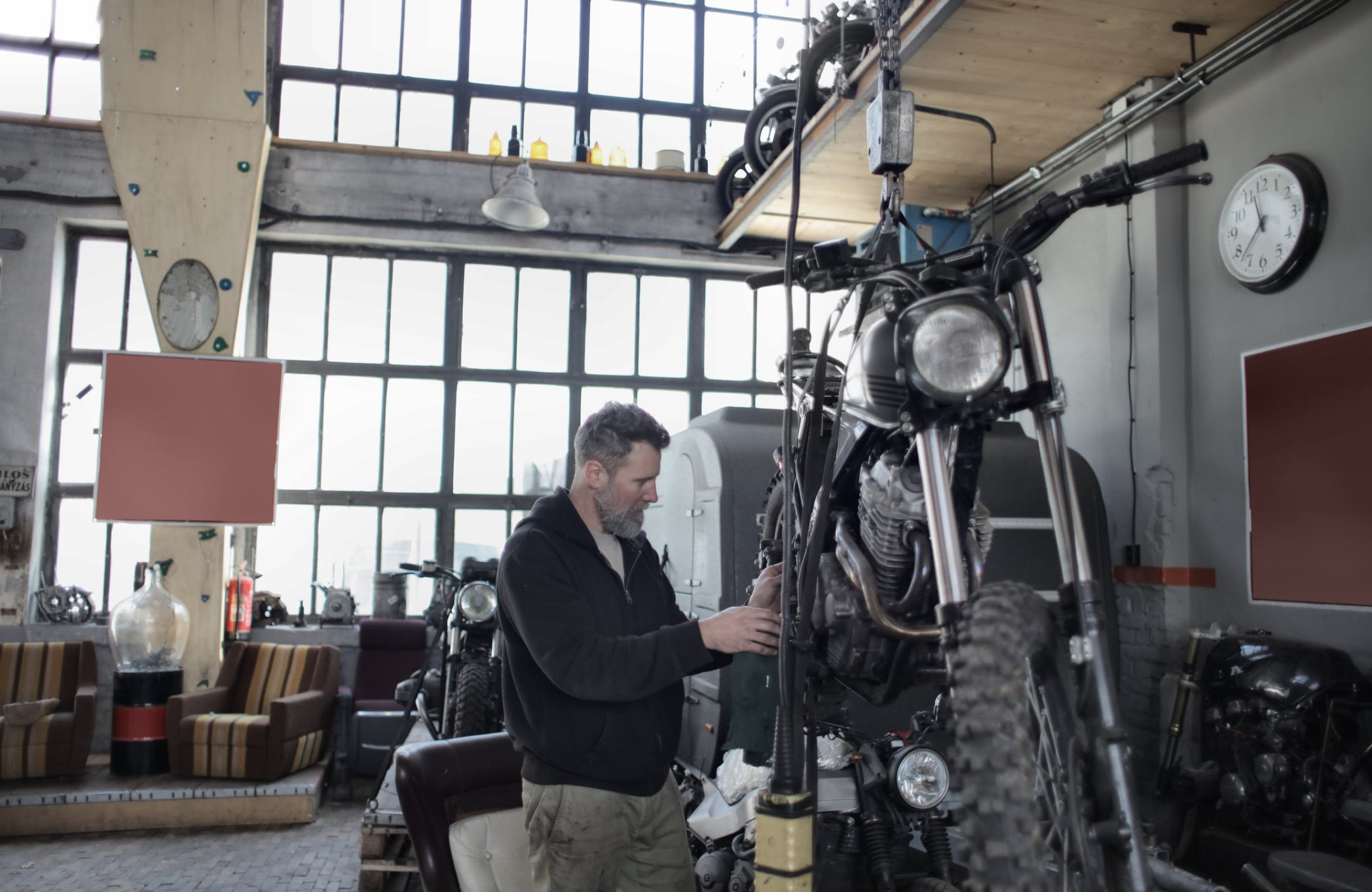 Converting Your Garage to a Motorcycle Haven